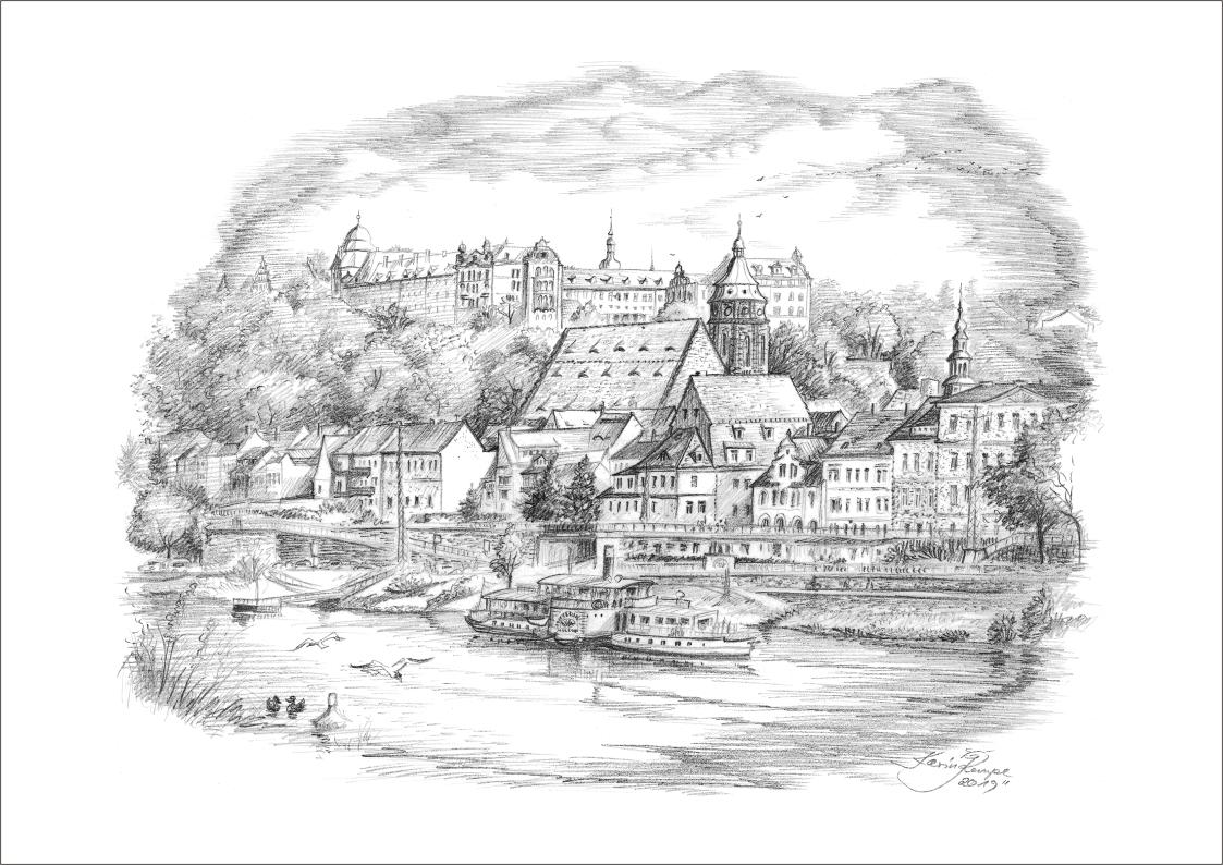 Bleistiftzeichnungen Pirna