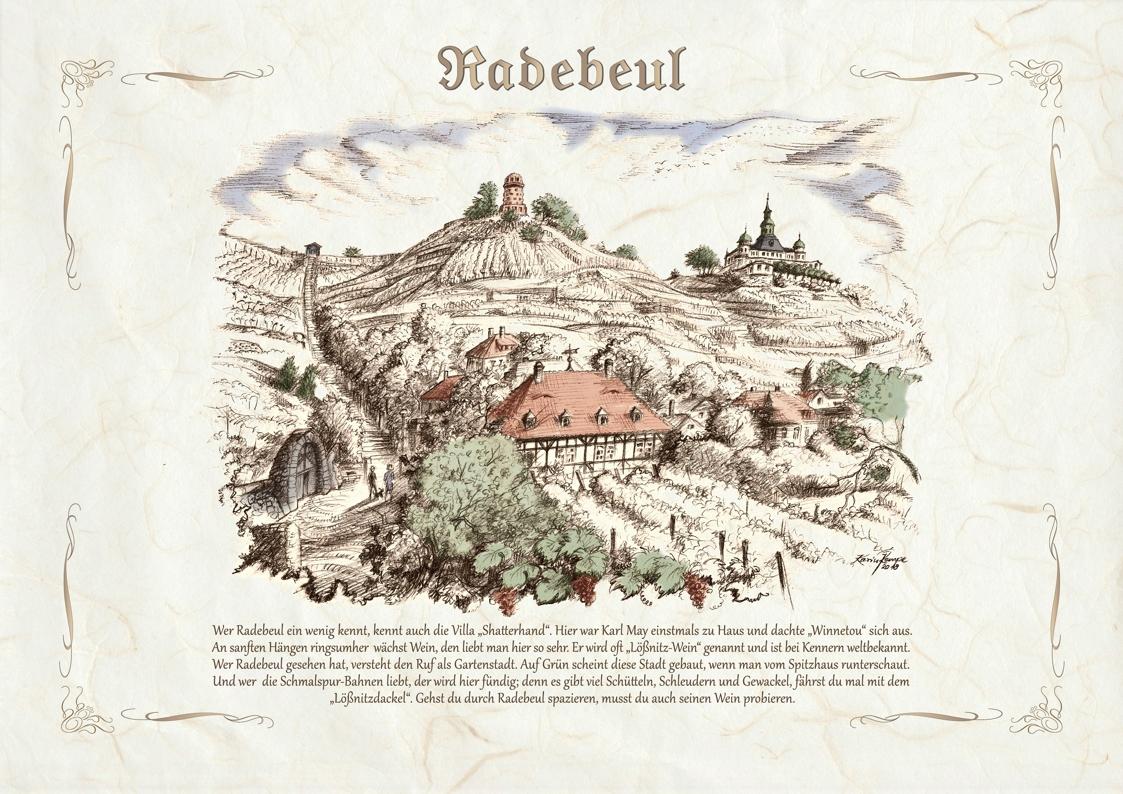 Zeichnungen kolor Radebeul