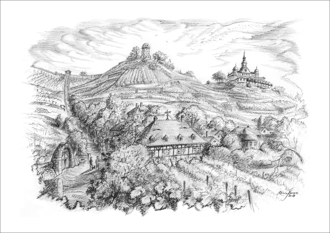 Bleistiftzeichnungen Radebeul
