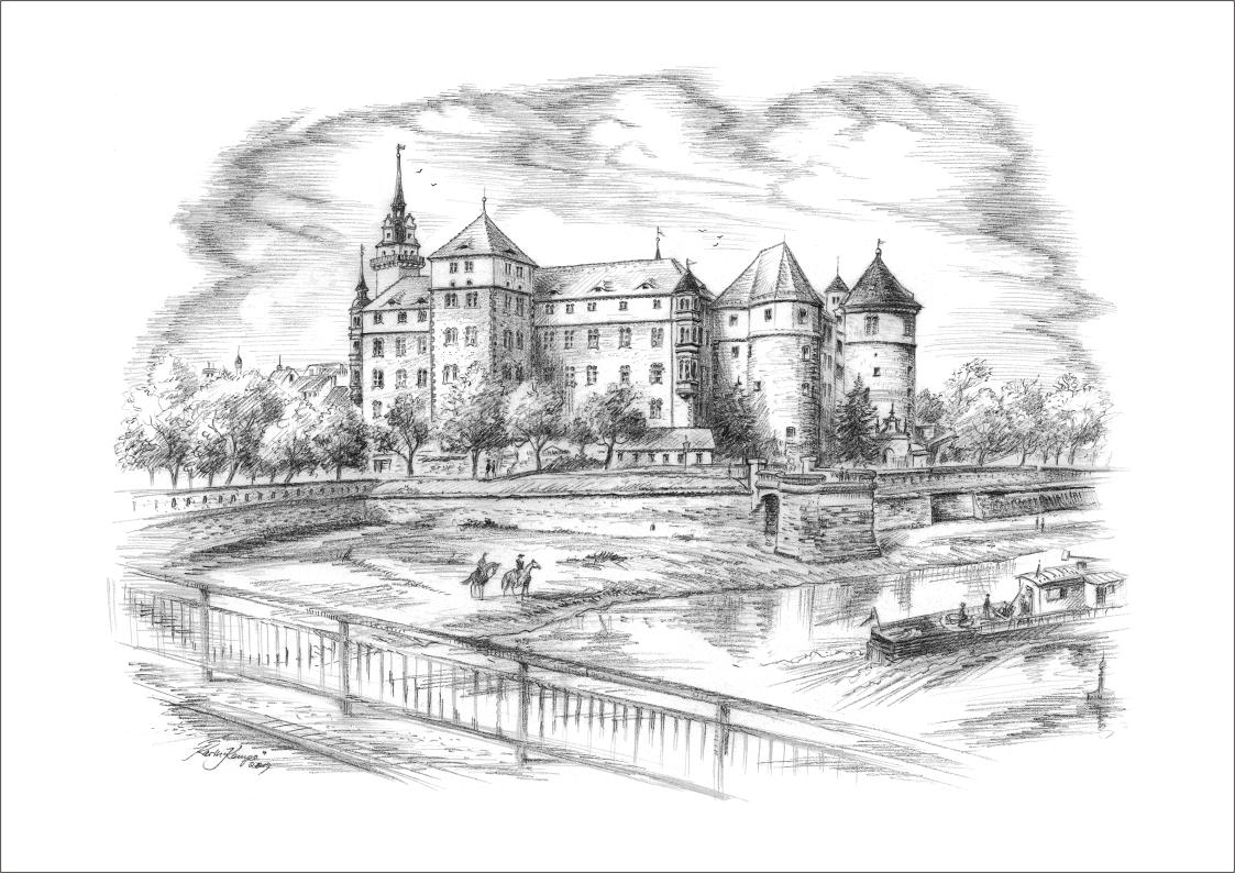Bleistiftzeichnungen Torgau