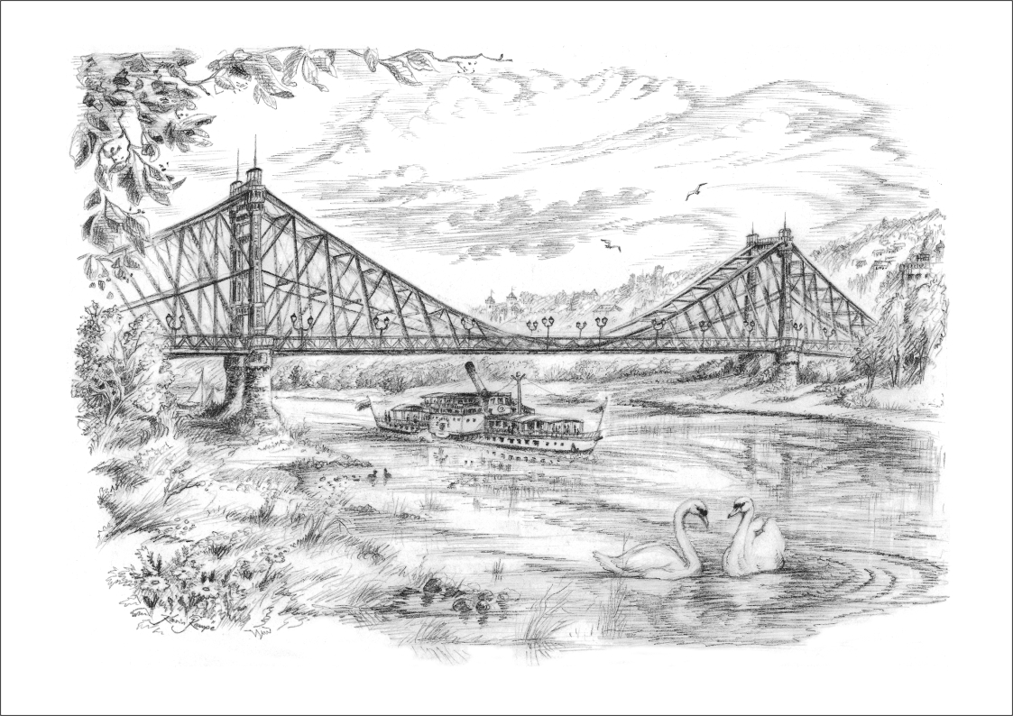 Bleistiftzeichnungen Dresden