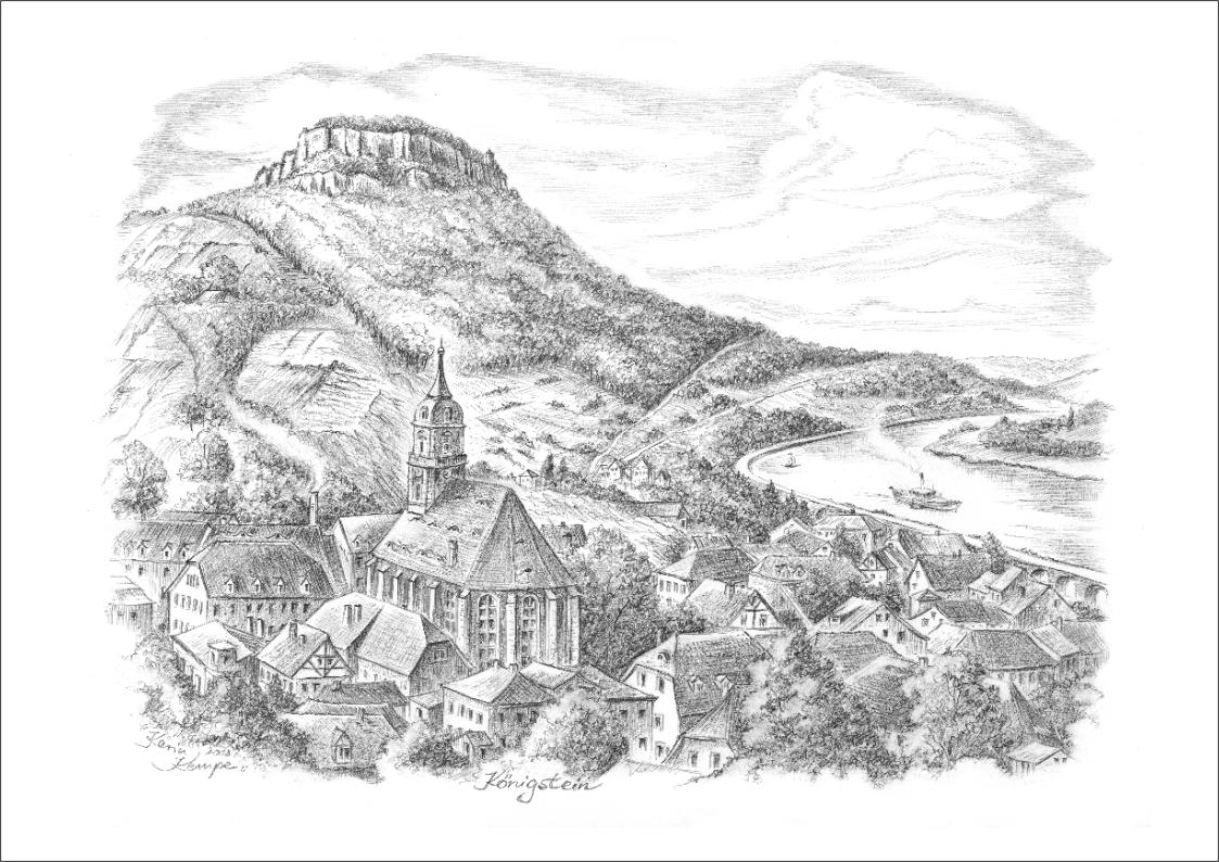 Bleistiftzeichnungen Königstein