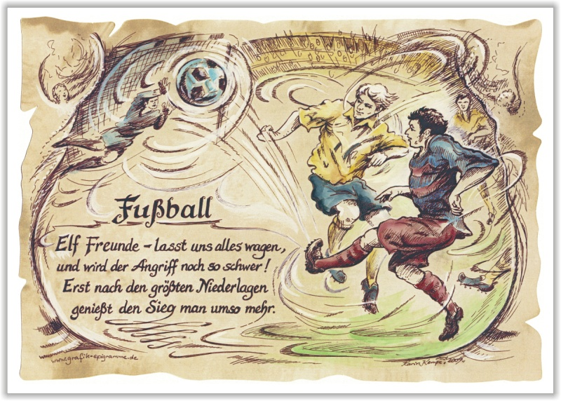 Fußball Gedicht