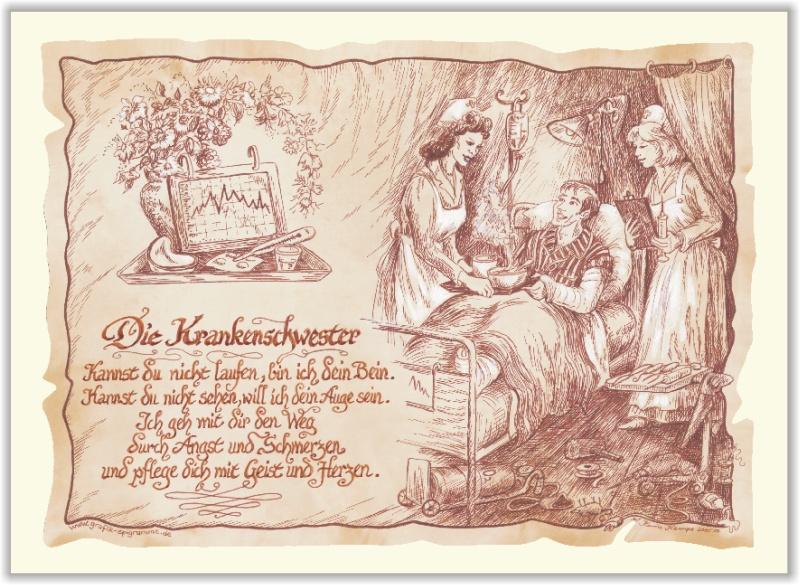 Gedicht Geschenk - Krankenschwester