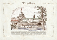Frauenkirche, Blick über die Elbe