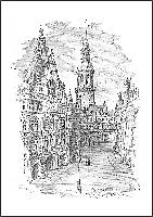 Schloss mit Übergang zur Hofkirche