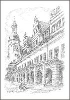 Altes Rathaus hoch